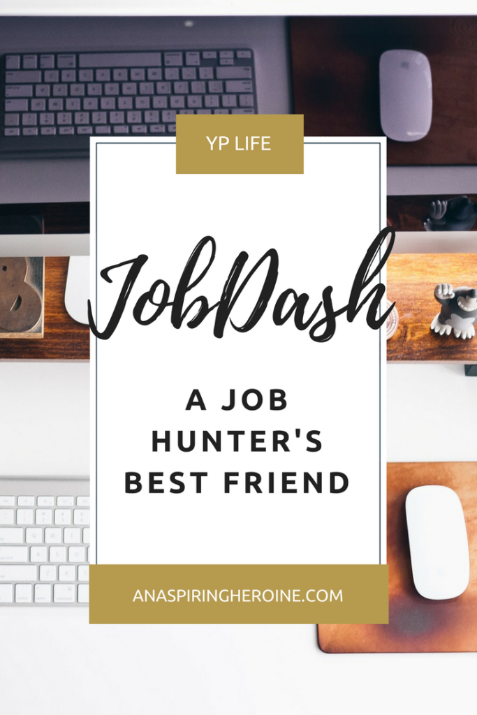 How did I reorganize my job search and finally land amazing employment? JobDash was instrumental to revitalizing my job search, giving me to the tools to stay on top of my job hunt without losing my mind in the process! | An Aspiring Heroine