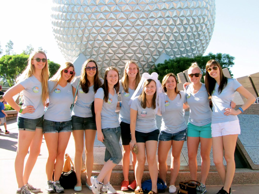 Bachelorette Party - Walt Disney World