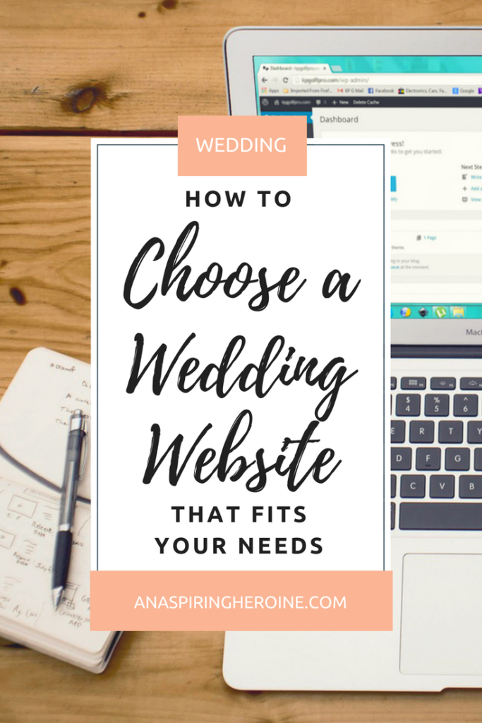 You don't need to shell out a bunch of cash for a wedding website. Here are a few free ones with seriously awesome perks and abilities! | An Aspiring Heroine