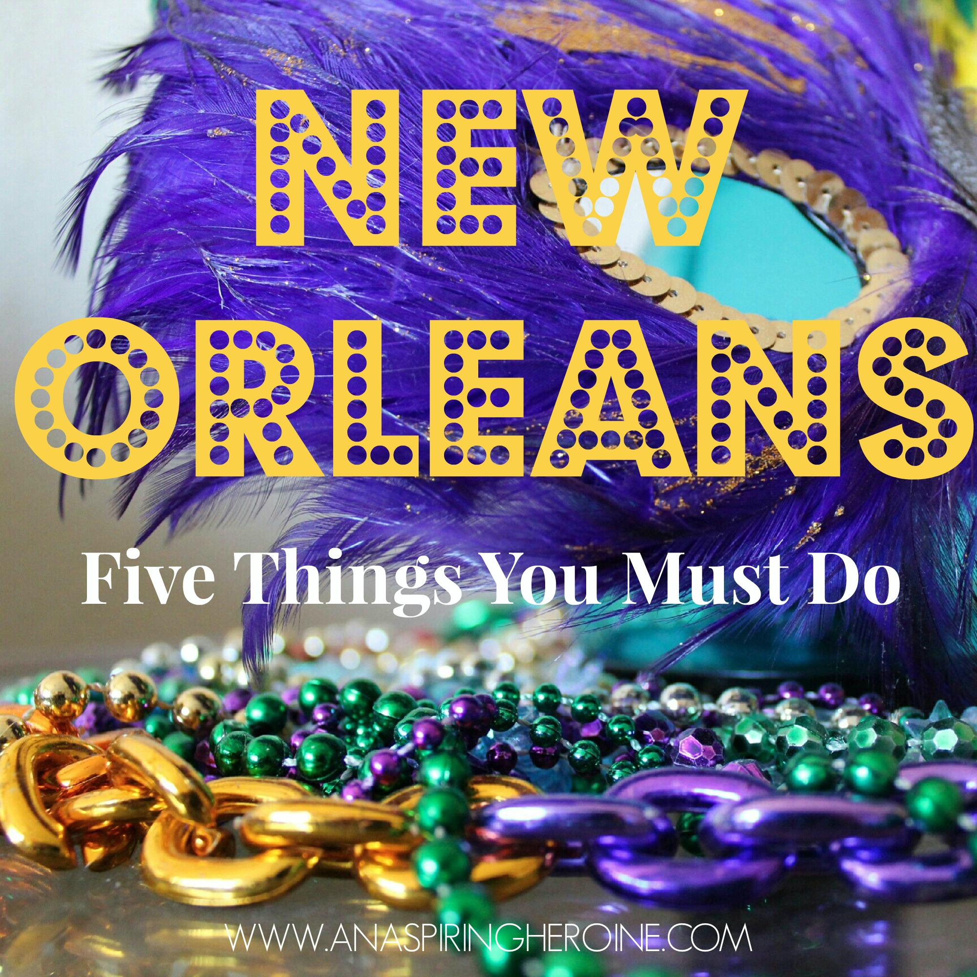 Everyone knows New Orleans for its annual Mardi Gras celebration, but these five staples of the Big Easy are available all year long! #neworleans