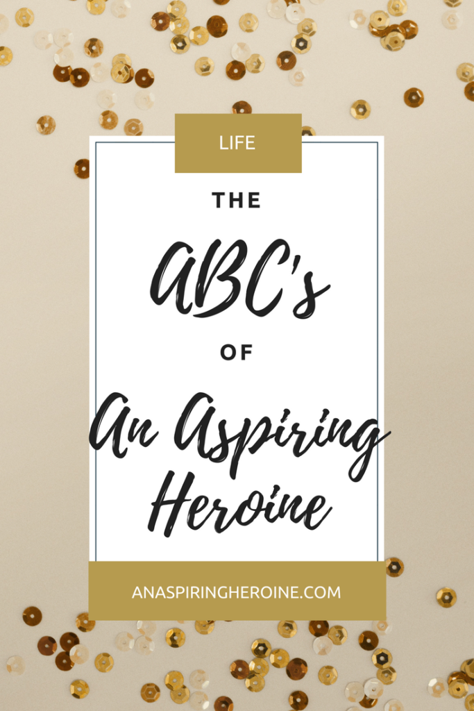 Looking for a fun way to introduce your readers to your blog? Grab this ABCs format for a quick, entertaining look at who you are as a blogger and what readers can expect from your posts | An Aspiring Heroine