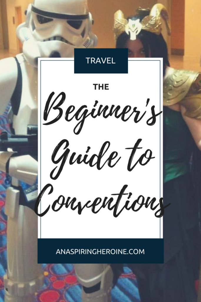 Comic-Con, Dragon Con, LeakyCon.... Conventions are the new thing, and I've put together a beginner's guide to conventions with wisdom from cosplayer Parker Bliss | An Aspiring Heroine