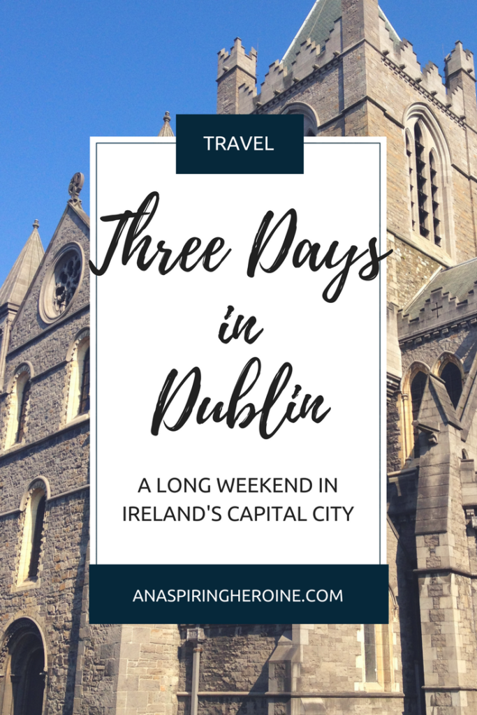 Dublin is the capital of Ireland and one of my favorite cities in the whole world. I've put together a travel itinerary for a long weekend on the Emerald Isle | An Aspiring Heroine