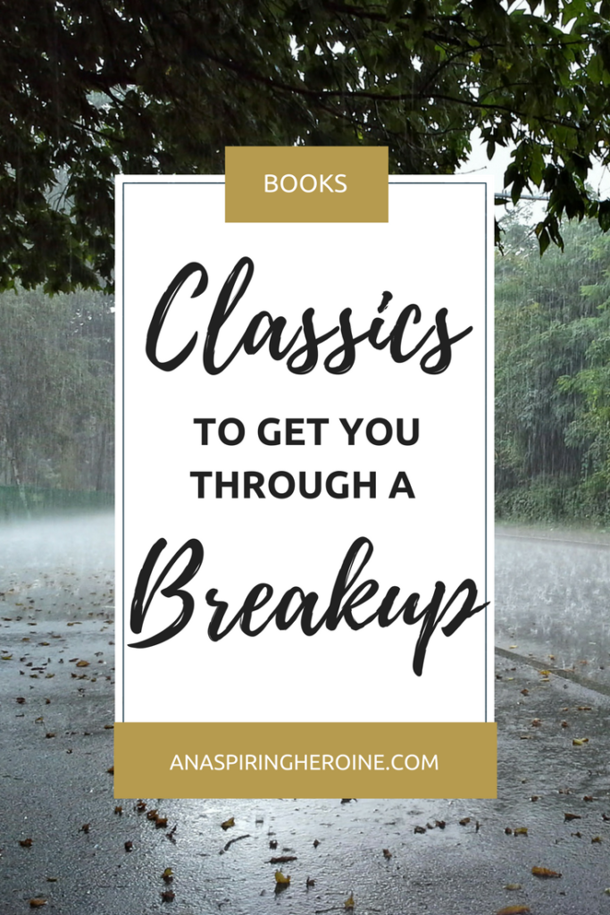 Using the psychological stages of grief after a breakup, I've put together a book list of classics that will help you get over your ex and become your best self again! | An Aspiring Heroine
