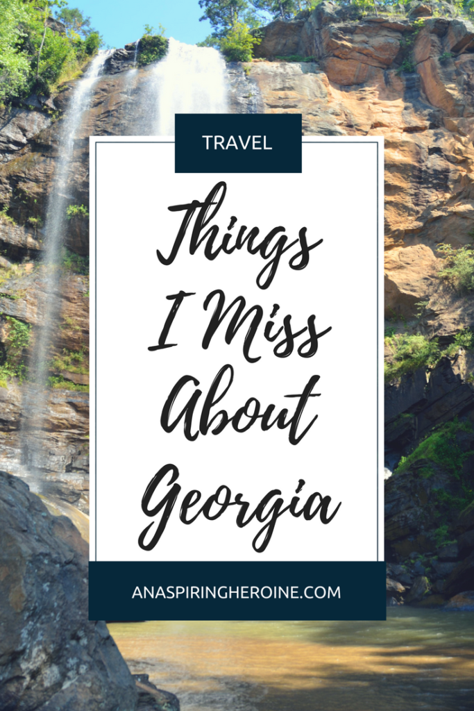 Some of my favorite things about the Peach State, my home state, the one and only Georgia | An Aspiring Heroine