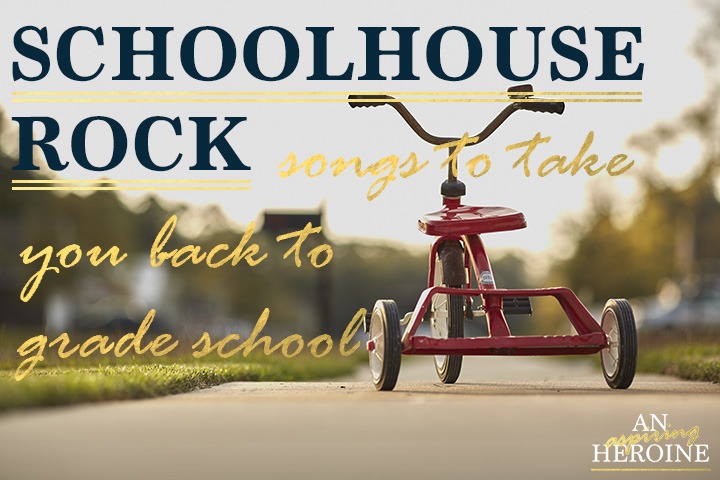 schoolhouse rock songs to take you back to grade school