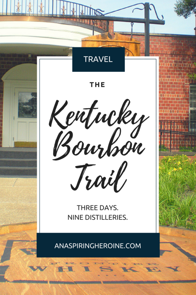 The Kentucky Bourbon Trail is a rite of passage for bourbon lovers! We spent three days driving around Kentucky and visiting all nine distilleries. Here's an itinerary for you to use! | An Aspiring Heroine