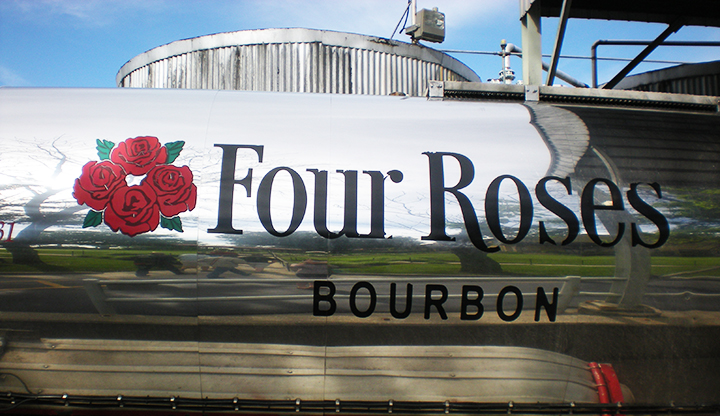 kentucky bourbon trail four roses