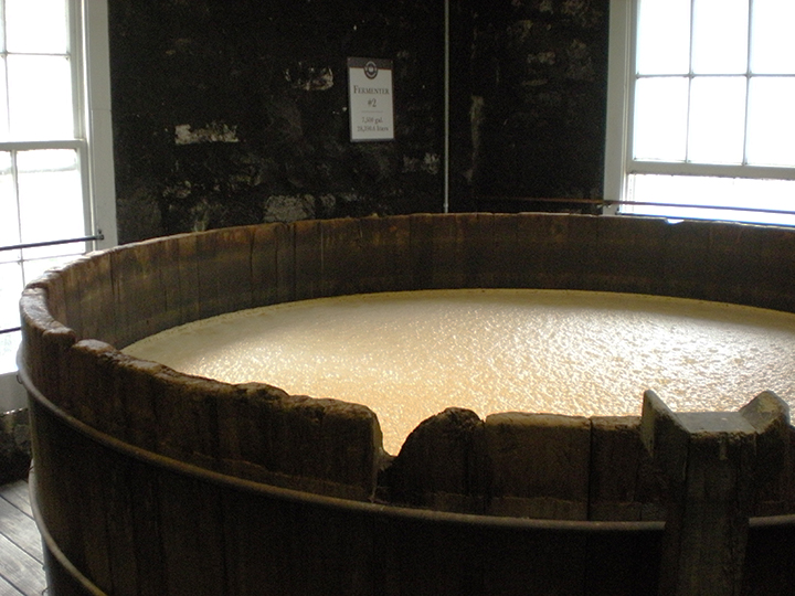 kentucky bourbon trail woodford reserve fermenter