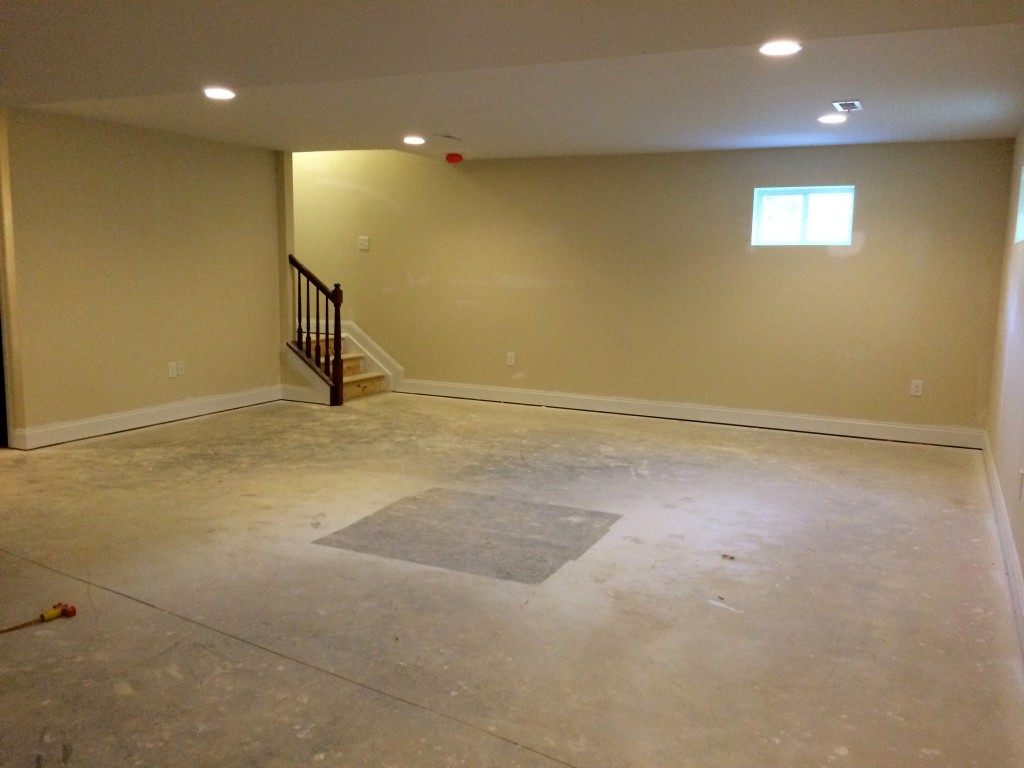 how to get permit for already finished basement