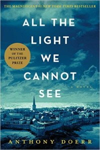 All The Light We Cannot See - What I Plan to Read in 2016 // www.anaspiringheroine.com