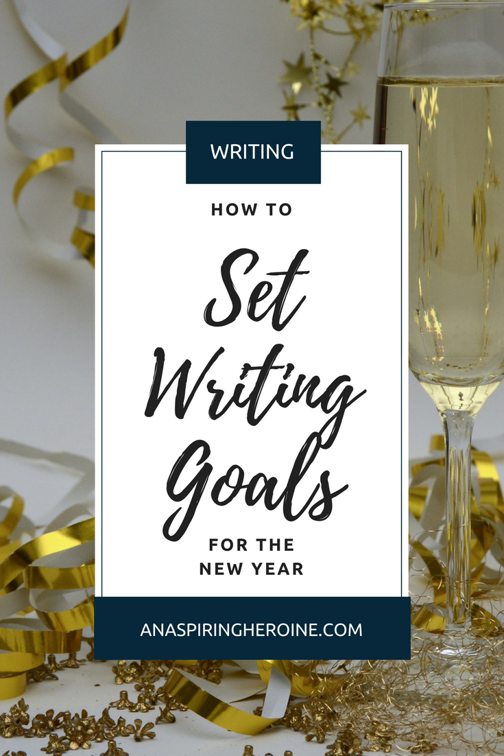 You can have your best writing year ever by setting specific, attainable writing goals as part of your New Year's resolutions! I break down long-term and short-term goals, and why they are both important to finishing your manuscript.