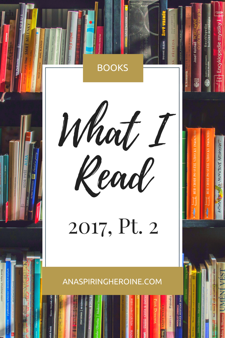 43 books later, and I surpassed my Goodreads reading challenge for 2017! Here is a list of recommendations with star ratings and why you should add them to your TBR list.