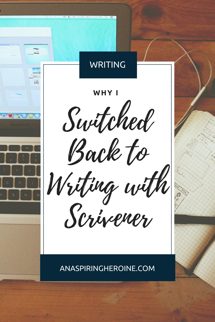 I'm not going to lie to you. Learning to get the most out of writing with Scrivener takes a little bit of work, but in my opinion, it is completely worth it. I've put together a few of my favorite things about writing with Scrivener to kick off a series of posts about its best features! | An Aspiring Heroine