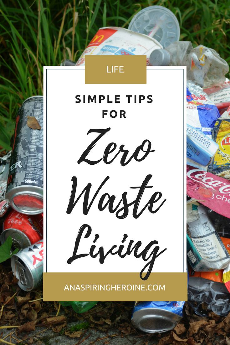 Lately I've put a lot of thought into my environmental footprint and the impact that I have on the Earth. I've made a few simple swaps in our everyday lives, and as a firm believer in the idea that every bit counts, I thought I would share my simple tips for working toward zero waste living! | An Aspiring Heroine