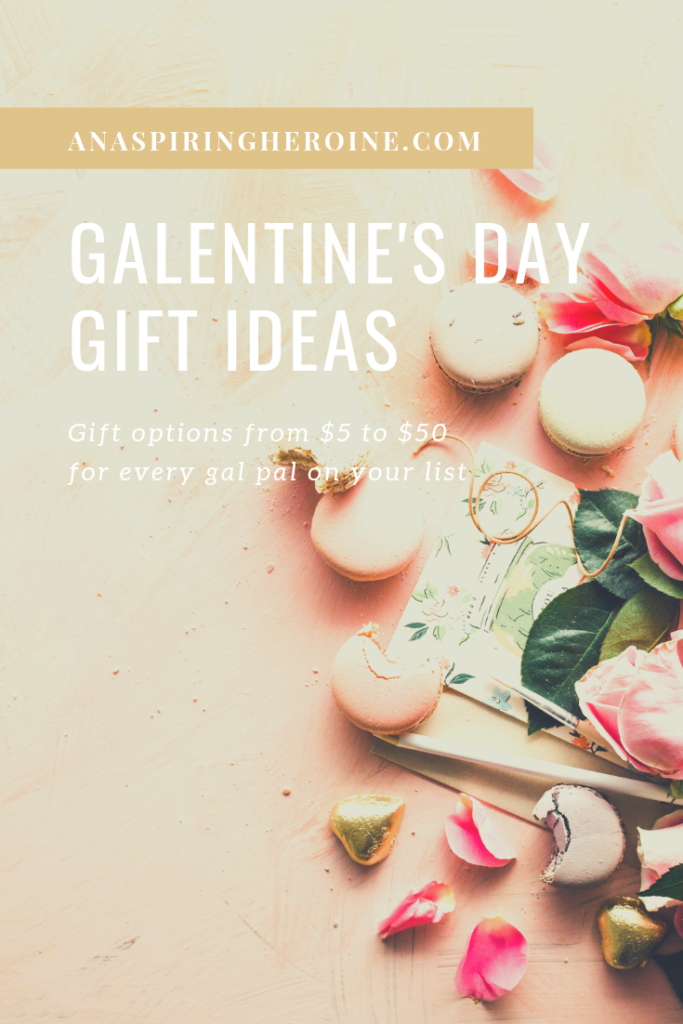 February 13 is right around the corner, and I've put together a list of Galentine's Day gift ideas so you can impress all the ladies who mean the most to you. Includes gifts under $10, $20, and $40. | An Aspiring Heroine